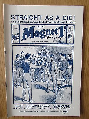 The Magnet No 403 Facsimile copy featuring Billy Bunter (October 1915)