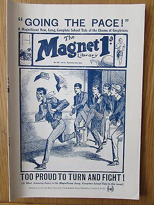 The Magnet No 404 Facsimile copy featuring Billy Bunter (November 1915)
