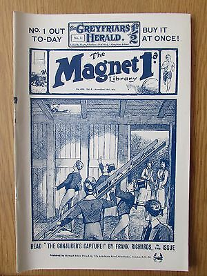The Magnet No 406 Facsimile copy featuring Billy Bunter (November 1915)
