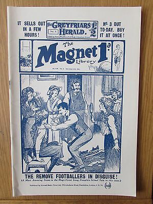 The Magnet No 408 Facsimile copy featuring Billy Bunter (December 1915)