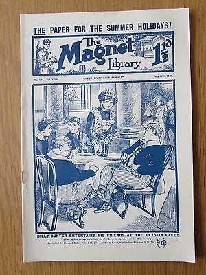 The Magnet No 701 Facsimile copy featuring Billy Bunter (July 1921)