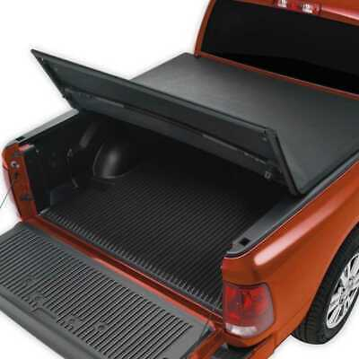 5ft Bed Black Soft Tri Fold Tonneau Cover for a 05-17 Nissan Frontier