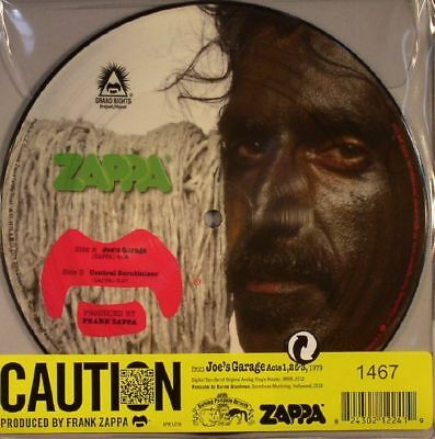 "ZAPPA, Frank - Joe's Garage (remastered) (Record Store Day 2016) - Vinyl (7"")"