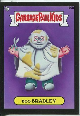 Garbage Pail Kids Mini Cards 2013 Black Parallel Base Card 50b Boo BRADLEY
