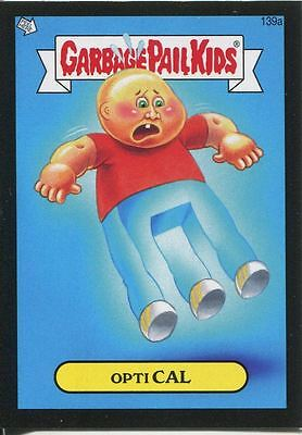Garbage Pail Kids Mini Cards 2013 Black Parallel Base Card 139a Opti CAL