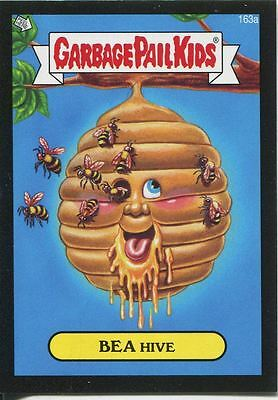 Garbage Pail Kids Mini Cards 2013 Black Parallel Base Card 163a BEA Hive