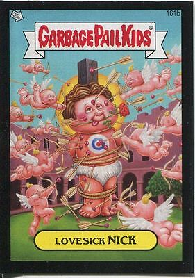 Garbage Pail Kids Mini Cards 2013 Black Parallel Base Card 161b Lovesick NICK
