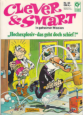 Clever & Smart Nr. 40 / 1. Auflage / Comic-Album