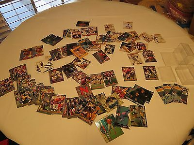 Huge Lot of Football Baseball hockey collector cards trading classic upper deck