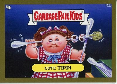 Garbage Pail Kids Mini Cards 2013 Gold Parallel Base Card 122a Cute TIPPI