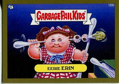 Garbage Pail Kids Mini Cards 2013 Gold Parallel Base Card 122b Eerie ERIN