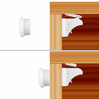 Child baby Safety Magnetic Cabinet Lock No Tools Or Screws Needed 4+1 Set