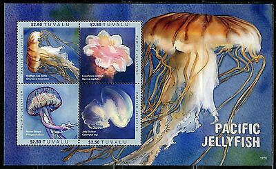 Tuvalu  2017 Pacific Jellyfish  Sheet   Mint Nh