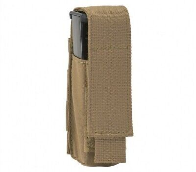 T3 Gear Single (1) Pistol Magazine MOLLE Mag Pouch - Coyote Tan (T3-PSMP)