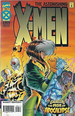 AGE OF APOCALYPSE: ASTONISHING X-MEN #4 of 4 (1995) MARVEL COMICS V/F+