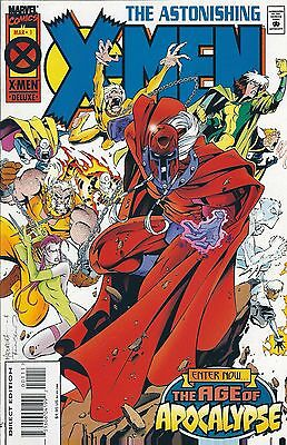 AGE OF APOCALYPSE: ASTONISHING X-MEN #1 of 4 (1995) MARVEL COMICS V/F+