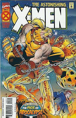 AGE OF APOCALYPSE: ASTONISHING X-MEN #2 of 4 (1995) MARVEL COMICS V/F+