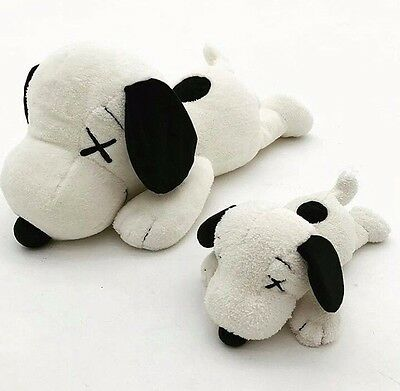 Uniqlo x KAWS Peanuts Plush Toy Set of 2 (Small & Large) *LIMITED* *IN HAND*