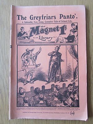 The Magnet No 256 Facsimile copy featuring Billy Bunter January 1913