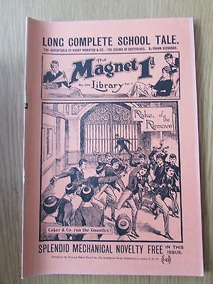 The Magnet No 258 Facsimile copy featuring Billy Bunter January 1913