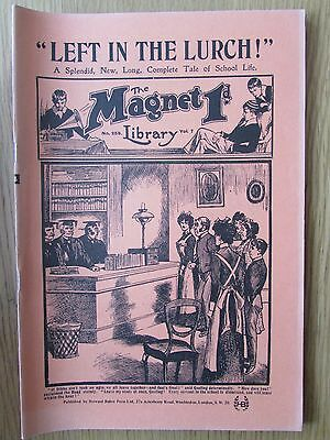 The Magnet No 259 Facsimile copy featuring Billy Bunter January 1913