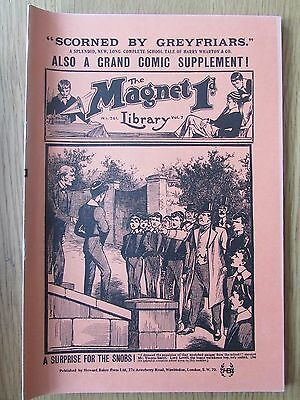 The Magnet No 261 Facsimile copy featuring Billy Bunter February 1913