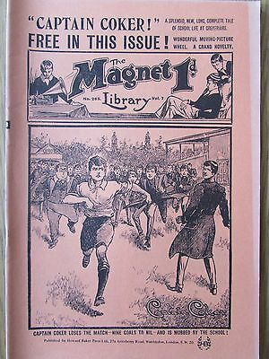 The Magnet No 263 Facsimile copy featuring Billy Bunter February 1913