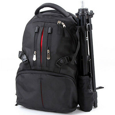 Large Outdoor DSLR SLR Camera Backpack Cam For Nikon Sony Canon Waterproof Cover