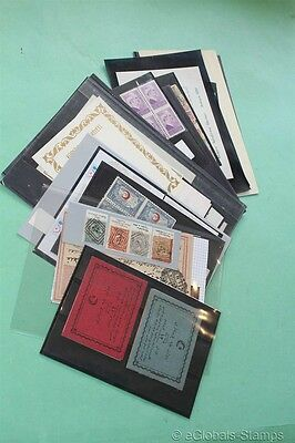 TURKEY Better Items Varities 2x Booklets 1913 Sheets Stamp Collection