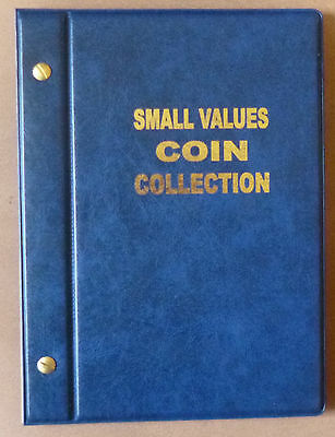 VST COIN ALBUM for 1c,2c,5c,10c COINS 1966 to 2018 MINTAGES Shown - BLUE Colour