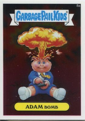 Garbage Pail Kids Chrome Series 1 Base Card 8a ADAM BOMB