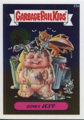 Garbage Pail Kids Chrome Series 1 Base Card 22a JUNKY JEFF