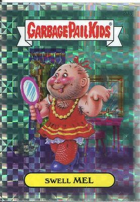 Garbage Pail Kids Chrome Series 1 X Fractor Refractor Base Card 20a SWELL MEL