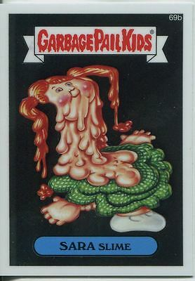Garbage Pail Kids Chrome Series 2 Base Card 69b SARA SLIME
