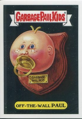 Garbage Pail Kids Chrome Series 2 Base Card 75a OFF-THE-WALL PAUL