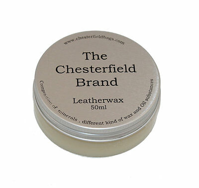 The Chesterfield Brand Lederpflege Leatherwax Leder Wachs 50 ml