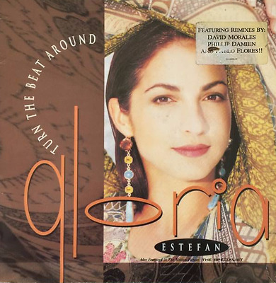"GLORIA ESTEFAN ‎- Turn The Beat Around (12"") (VG+/G-)"