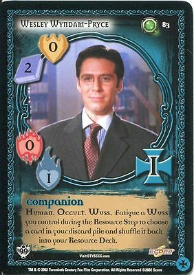 Buffy TVS CCG Limited Class Of 99 Rare Foil Card #117 Ascension Of Olivikan