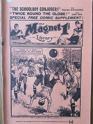 The Magnet No 268 Facsimile copy featuring Billy Bunter March 1913