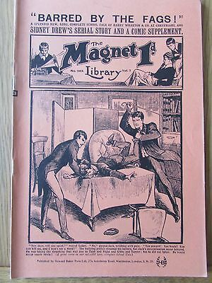 The Magnet No 269 Facsimile copy featuring Billy Bunter April 1913