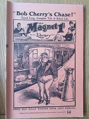 The Magnet No 270 Facsimile copy featuring Billy Bunter April 1913