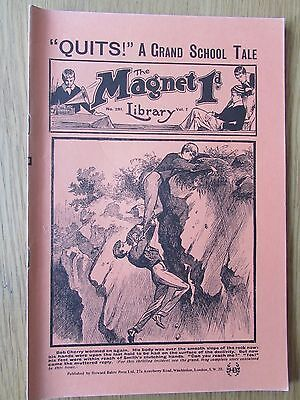 The Magnet No 281 Facsimile copy featuring Billy Bunter June 1913