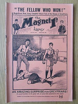 The Magnet No 394 Facsimile copy featuring Billy Bunter August 1915