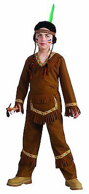 Child Native American Indian Brave Warrior Costume