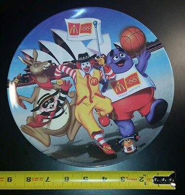 Mcdonalds plates 1977 and 2000
