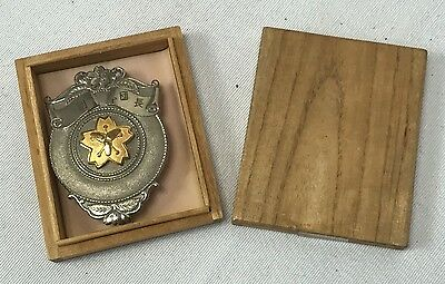 Vintage Japanese Chiyoda Fire Chiefs Badge