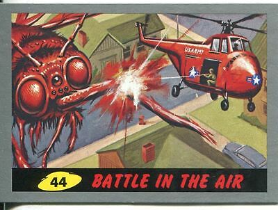 Mars Attacks Heritage Silver Parallel Base Card #44    Battle in the Air