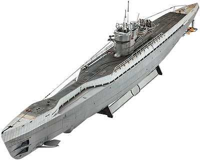 German Submarine Type IXC/40 (U190) 1/72 scale Revell plastic model kit#5133