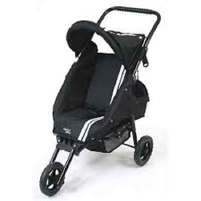 Brand New Valco Dolls Pram stroller Twin Toddler Seat Mini Marathon Double Black
