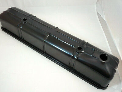 Black Powder Coated Steel Chevy 216 -235 Straight 6 Valve Cover 1937-53 Rat Rod
